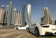 Rent a Ferrari vs. Lamborghini in Dubai image